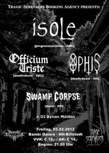 Flyer Swamp Corpse Isole Bambi Galore